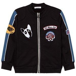 Dolce & Gabbana Boys Jumpers and knitwear Black Black Applique Bomber Jacket