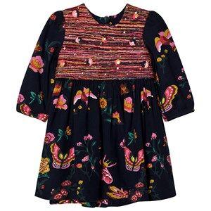 Billieblush Girls Dresses Navy Navy Floral Print Dress