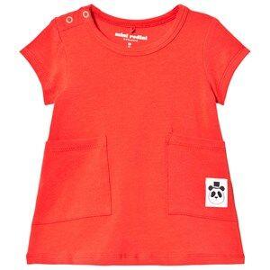 Mini Rodini Girls Dresses Red Basic Dress Red