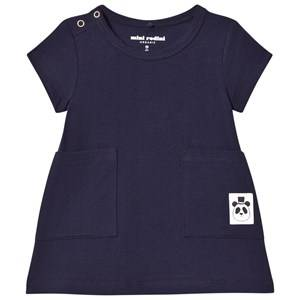 Mini Rodini Girls Dresses Blue Basic Dress Navy