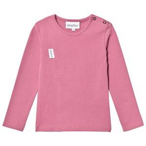 Gugguu Unisex Tops Pink Unisex Tricot Shirt Heather Rose