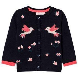 Billieblush Girls Jumpers and knitwear Navy Navy Bird Cardigan