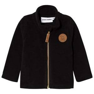 Mini Rodini Unisex Fleeces Black Fleece Jacket Black