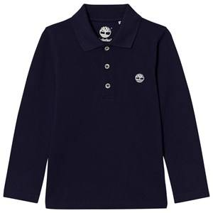 Timberland Boys Tops Navy Navy Branded Polo