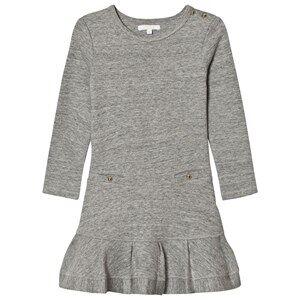 Image of Chloé Girls Dresses Blue Grey Jersey Long Sleeve Dress