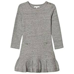 Image of Chloé Girls Dresses Blue Grey Jersey Long Sleeve Dress