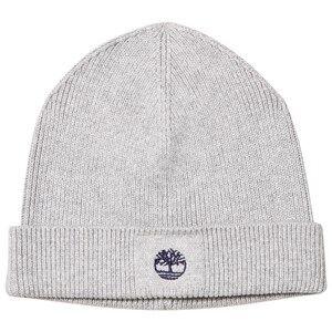 Timberland Boys Headwear Grey Grey Knit Branded Beanie