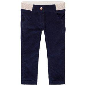 Carrément Beau Girls Bottoms Navy Navy Corduroy Slim Pants