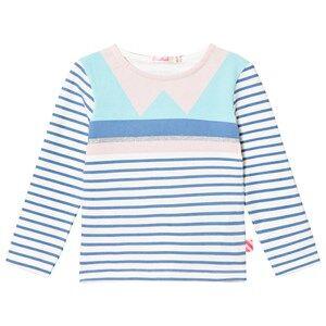 Billieblush Girls Tops Blue Blue/Pink Geometric Tee