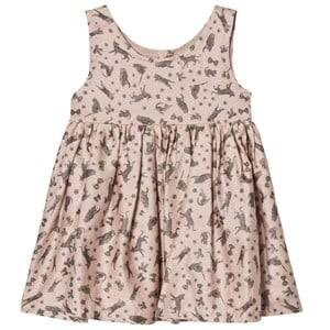 Wheat Girls Tops Pink Pinafore Dress Wrinkles Dusty Coral