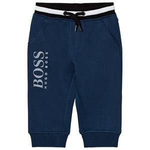 Boss Boys Bottoms Blue Blue Branded Sweat Pant