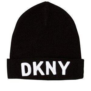 DKNY Unisex Headwear Black Black Branded Unisex Beanie