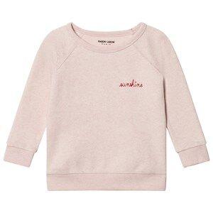 Maison Labiche Girls Jumpers and knitwear Pink Sunshine Embroidered Sweatshirt Pink