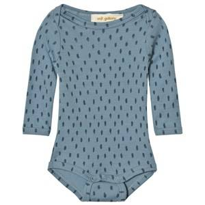 Soft Gallery Unisex All in ones Blue Baby Body Bob Wool Citadel