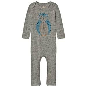 Soft Gallery Unisex All in ones Grey Baby One-Piece Ben Neppy Grey Melange