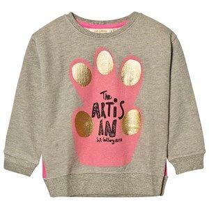 Soft Gallery Unisex Jumpers and knitwear Grey Cira Sweatshirt Ash Lurex