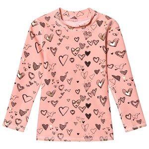 Soft Gallery Girls Tops Pink Astin Sun Shirt Coral Almond