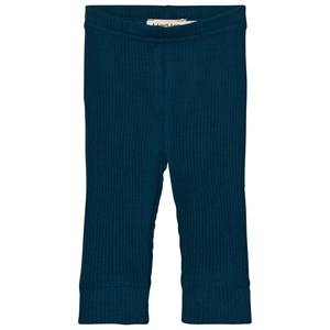 MarMar Copenhagen Unisex Bottoms Blue Leggings Blue Abyss