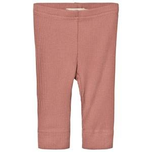 MarMar Copenhagen Unisex Bottoms Pink Leggings Antique Rose