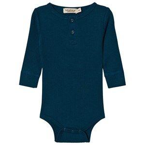 MarMar Copenhagen Unisex All in ones Blue Baby Body Blue Abyss