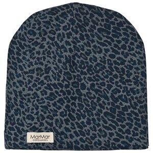 MarMar Copenhagen Unisex Headwear Blue Leo Beanie Stormy Blue Leo