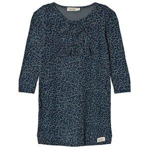 MarMar Copenhagen Girls Dresses Blue Leo Donna Dress Stormy Blue Leo
