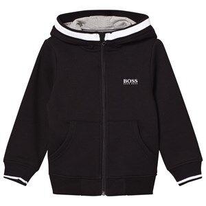 Boss Boys Jumpers and knitwear Black Black Branded Hoodie