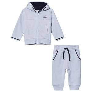 Boss Boys Clothing sets Blue Pale Blue Branded Tracksuit