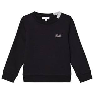 Boss Boys Jumpers and knitwear Black Black Branded Sweatshirt