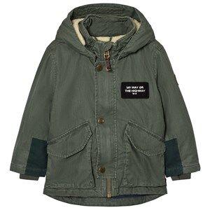 Image of Molo Unisex Coats and jackets Green Hewson Jacket Deep Silver Pine