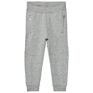 Molo Girls Bottoms Grey Alvinas Soft Pants Grey Melange