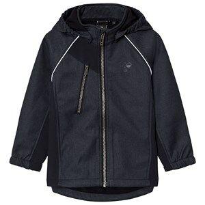 Hummel Unisex Coats and jackets Navy Nicco Softshell Jacket Dark Navy