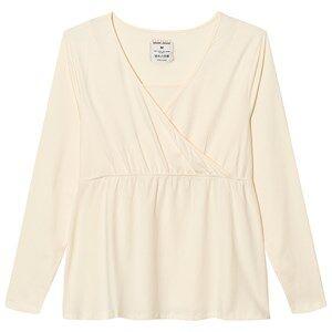 Mom2Mom Girls Private Label Maternity tops Cream Glow Top Cream