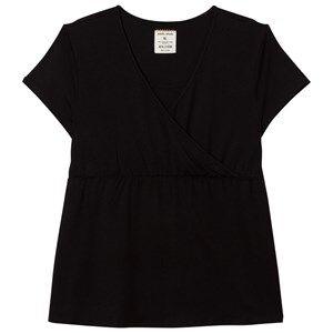Mom2Mom Girls Private Label Maternity tops Black Glow Tee Black