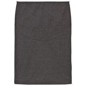 Mom2Mom Girls Private Label Maternity bottoms Grey Pencil Skirt Grey Melange