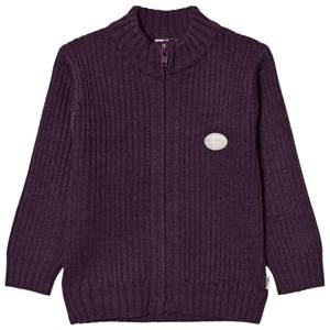 Lillelam Unisex Jumpers and knitwear Purple Basic Jacket Purple