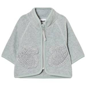 Molo Unisex Fleeces Grey Umo Fleece Jacket Sky Grey