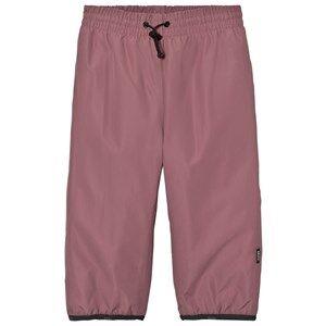Molo Girls Bottoms Purple Wild Rain Pants Purple Mist