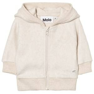 Molo Unisex Fleeces Cream Ummi Jacket Oatmeal Melange