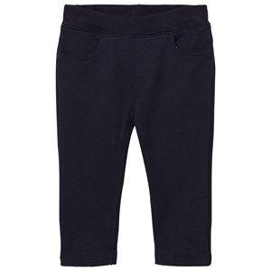 Petit Bateau Unisex Bottoms Blue Soft Pants Marine