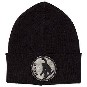 Image of Molo Unisex Headwear Black Korey Hat Black