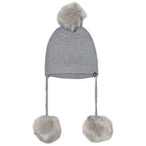 Molo Unisex Headwear Grey Keeli Hat Grey Melange