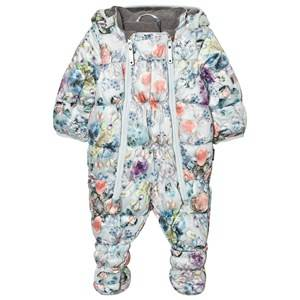 Molo Girls Coveralls White Hebe Baby Coverall Mineral Bijou
