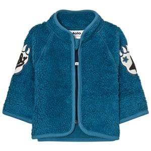 Molo Unisex Fleeces Blue Urvan Fleece Jacket Latitude