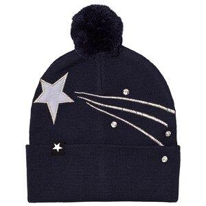 Image of Molo Unisex Headwear Black Kaylee Hat Total Eclipse