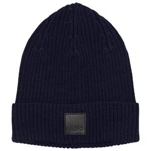 Image of Molo Unisex Headwear Black Kjetil Hat Total Eclipse