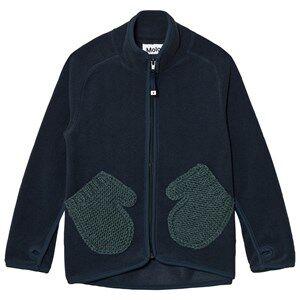 Molo Unisex Fleeces Navy Ushi Fleece Jacket Midnight Navy