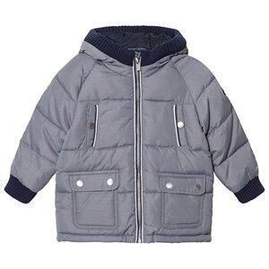 Mayoral Boys Coats and jackets Grey Grey Padded Hooded Coat