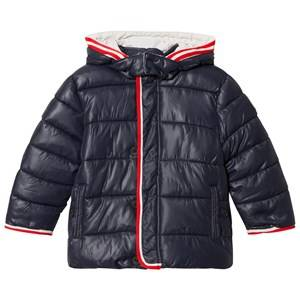 Mayoral Boys Coats and jackets Navy Navy Puffer Coat with Detachable Hood