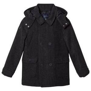 Mayoral Boys Coats and jackets Grey Grey Flannel Hooded Coat